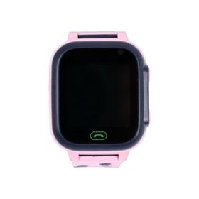 Детские смарт-часы Windigo AM-15, 1.44', 128x128, SIM, 2G, LBS, камера 0.08 Мп, розовые Ош