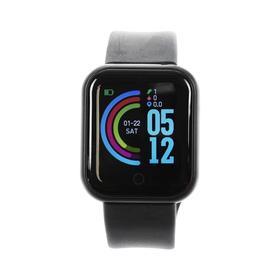 Смарт-часы Windigo AM-4, 1.3', цветной дисплей, сенсор, пульсометр, шагомер, 90 мАч, черный Ош