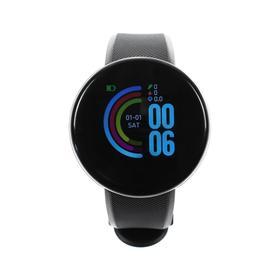 Смарт-часы Windigo AM-5, 1.3', цветной дисплей, сенсор, пульсометр, шагомер, 90 мАч, черный Ош