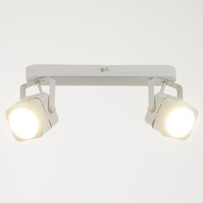 Светильник 5.0115-2, 2х50Вт GU5.3, цвет белый