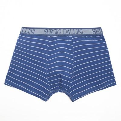Трусы мужские боксеры, цвет синий, размер 48-50 (L) - Фото 1