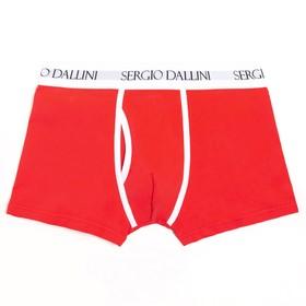 Трусы мужские боксеры, цвет красный, размер 48-50 (L)