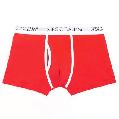 Трусы мужские боксеры, цвет красный, размер 48-50 (L) - Фото 1