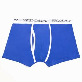 Трусы мужские боксеры, цвет синий, размер 48-50 (L)