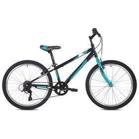 Велосипед 24' Foxx Mango, цвет черный, размер 14' Ош