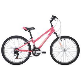 Велосипед 24' Foxx Salsa, цвет розовый, размер 12' Ош