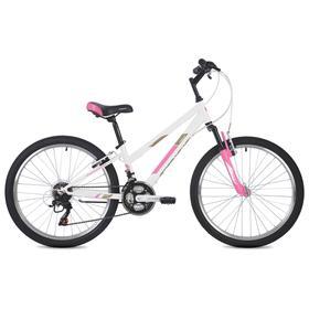 Велосипед 24' Foxx Salsa, цвет белый, размер 14' Ош