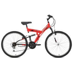 Велосипед 26' Mikado Explorer, цвет красный, размер 18' Ош