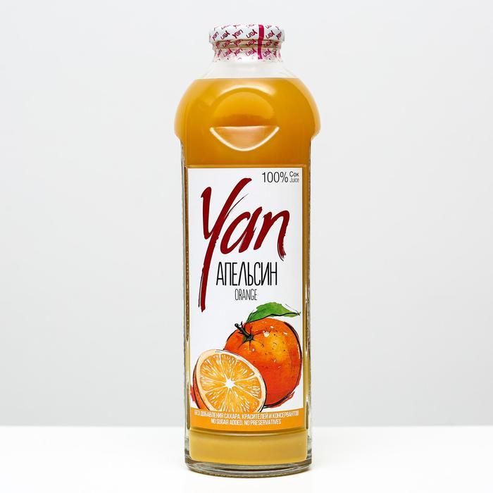 Апельсиновый сок восстановленный YAN, 930 мл