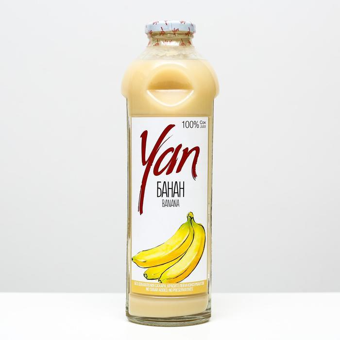 Банановый сок восстановленный YAN, 930 мл