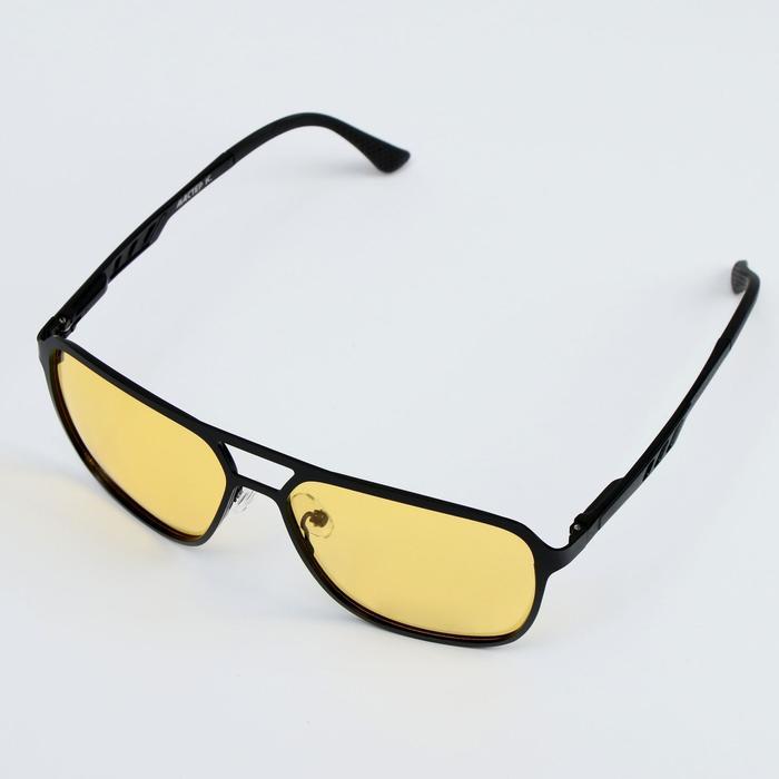 Очки водительские, поляризационные,TR 90, алюминий, ширина 13.5 см, дужки флекс 14 см+ чехол
