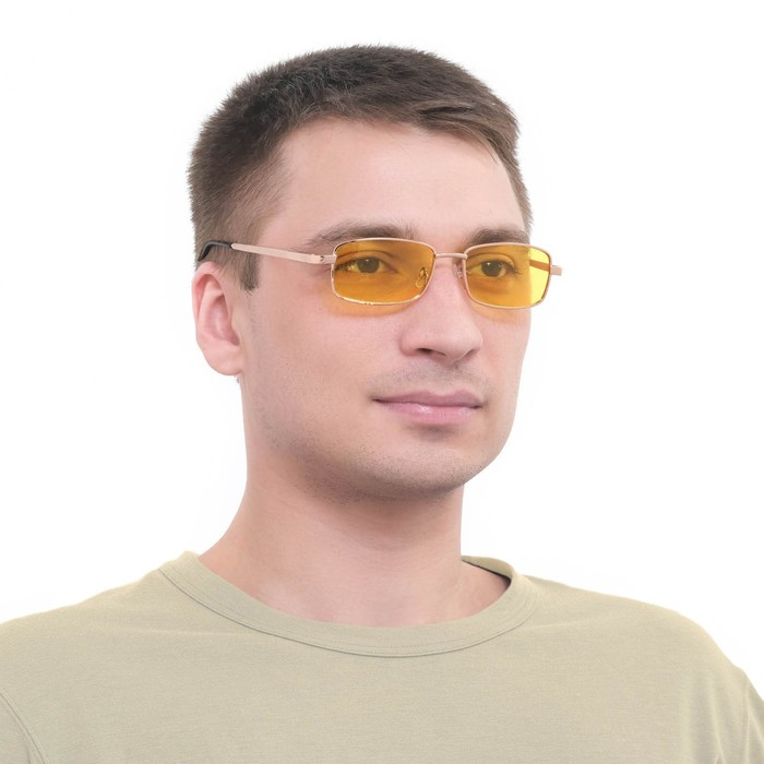 """Очки водительские """"Мастер К."""", поляризационные, линза 3.8х5.5 см,ширина 14см, дужка 13см"""