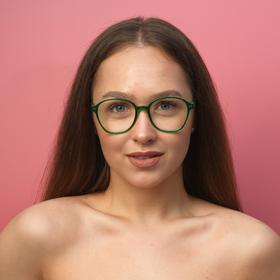 Очки для компьютера женские 'Мастер К', линза 5х5.7 см, ширина 14.5 см, дужка 15 см Ош