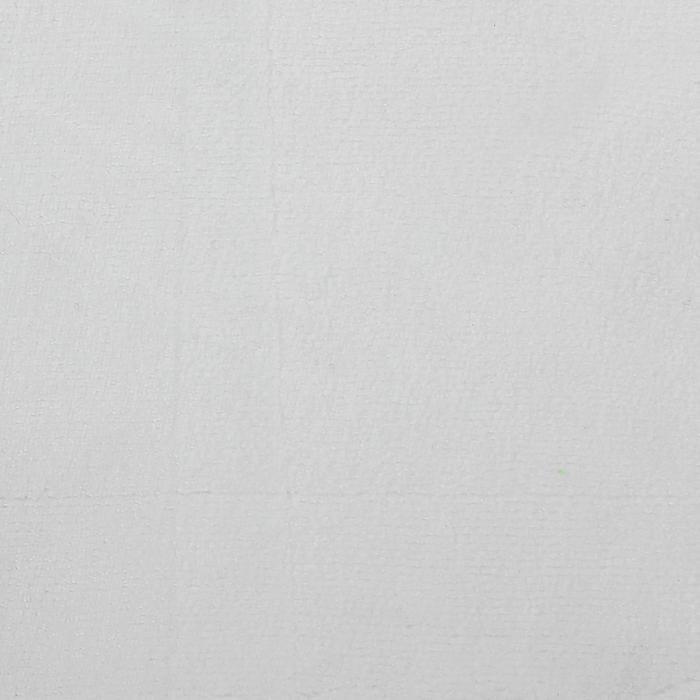 Велюр цвет белый, ширина 180 см