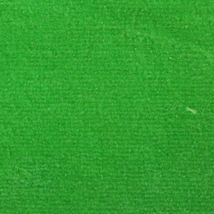Велюр цвет зеленый, ширина 180 см