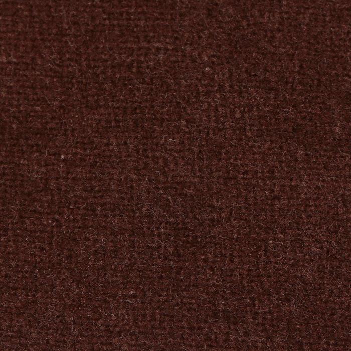 Велюр цвет коричневый, ширина 180 см