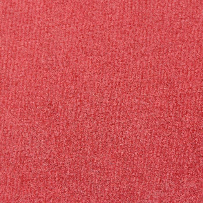 Велюр цвет розовый, ширина 180 см