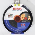 Сковорода блинная Cook Right Cas, d=22 см, антипригарное покрытие, цвет чёрный - Фото 7