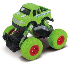 Машинка, инерционный механизм, рессоры, зелёная
