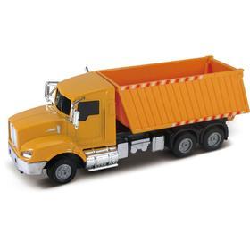 Строительный грузовик, инерционный механизм, свет, звук