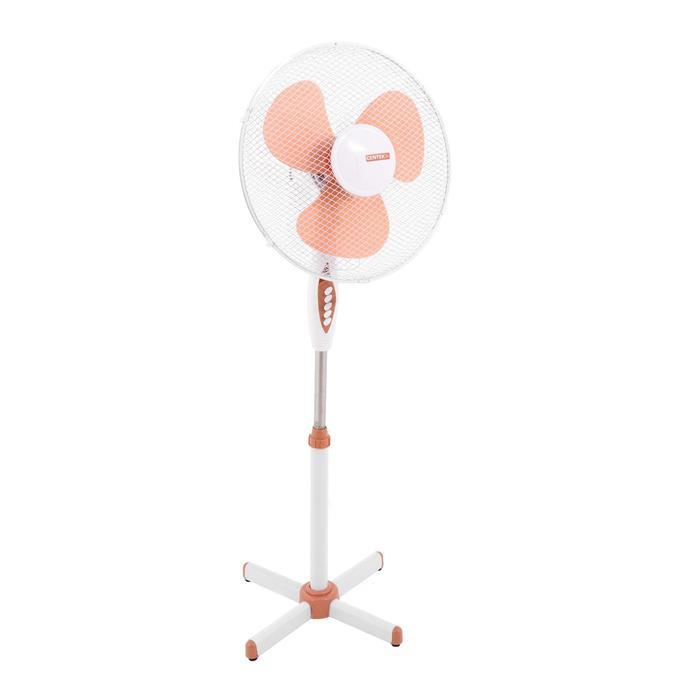 Вентилятор Centek CT-5000 Beige, напольный, 40 Вт, 43 см, фасовка по 2 шт, бежевый