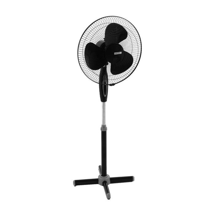 Вентилятор Centek CT-5004 Black, напольный, 40 Вт, 43 см, фасовка по 2 шт, чёрный