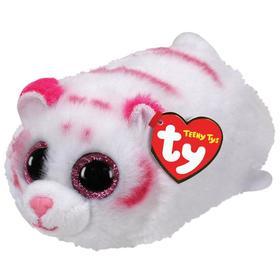 Мягкая игрушка «Тигр Табор», цвет бело-розовый, 10 см