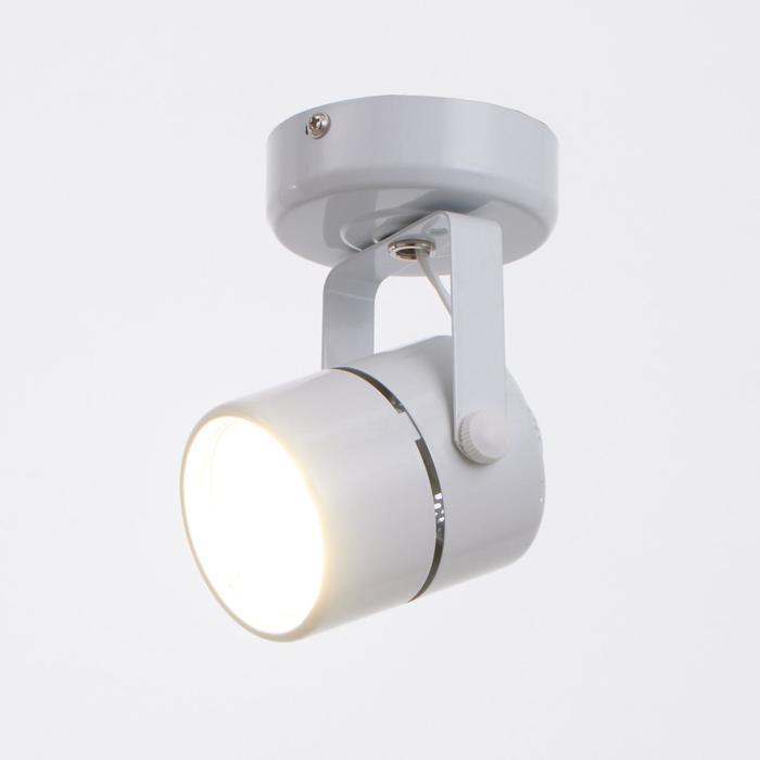 Светильник 50215, 1х50Вт GU53, цвет белый