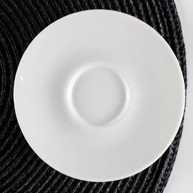 """Блюдце кофейное 11,7 см ф.768 """"Паола"""" """"Белье"""""""