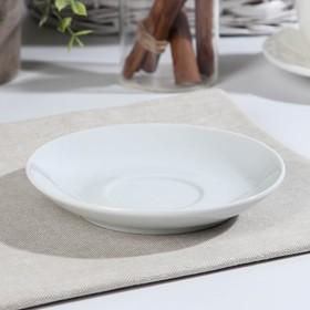 Блюдце чайное «Флора», d=14 см