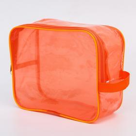 Сумка в роддом 20х25х10, цветной ПВХ, цвет оранжевый Ош