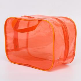 Сумка в роддом 23х32х17, цветной ПВХ, цвет оранжевый Ош