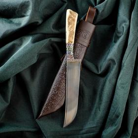Нож Пчак Шархон - рукоять кость (15см)