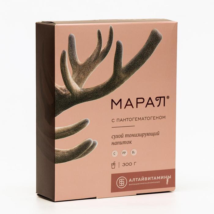 Напиток сухой тонизирующий ««Марал»» с пантогематогеном, 300 г