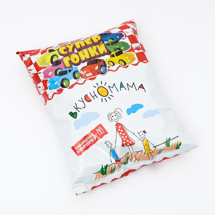 Кукурузные палочки сладкие «Супер гонки - сюрприз», 65 г