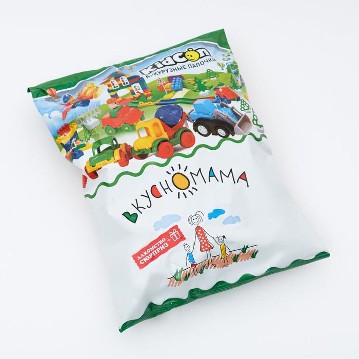 Кукурузные палочки сладкие KidСon + сюрприз, 40 г