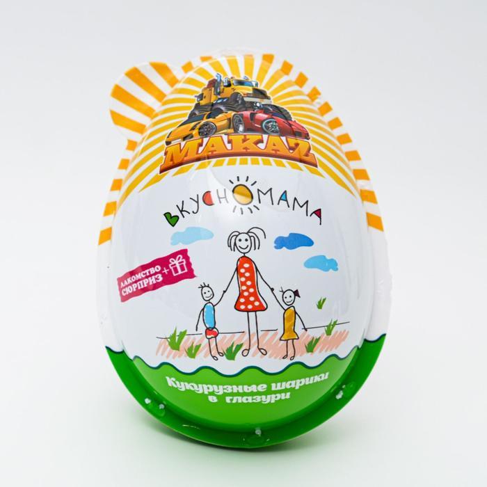 Кукурузные шарики в глазури Makaz, 30 г
