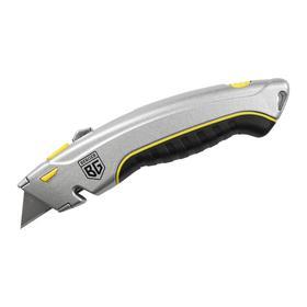 Нож BERGER BG1350, трапецевидное лезвие, 19 мм, 4 лезвия в комплекте