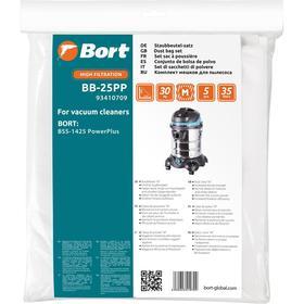 Мешок-пылесборник Bort BB-25PP, для пылесоса Bort BSS-1425 Power Plus, 5 шт