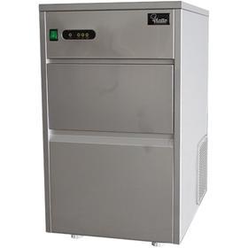 Льдогенератор VIATTO VA-IM-25AS, 240 Вт, кубиковый лёд, 25 кг/сутки, серебристый Ош