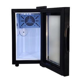 Холодильный шкаф для молока VA-SC08M, 600 Вт, 8 л, до +10°C, чёрный Ош