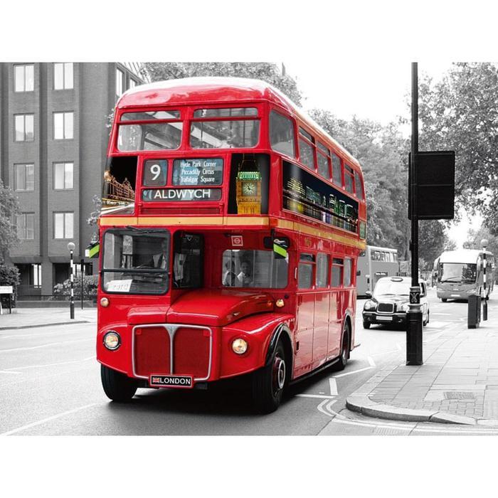 Постер Лондонский автобус, 30 х 40 см
