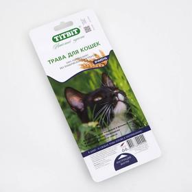 Трава TiTBiT для кошек, ячмень, 50 г Ош