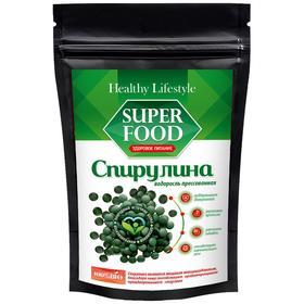 Спирулина Healthy Lifestyle, водоросль пресованная, 150 г