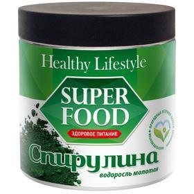 Спирулина Healthy Lifestyle, водоросль молотая, 250 г