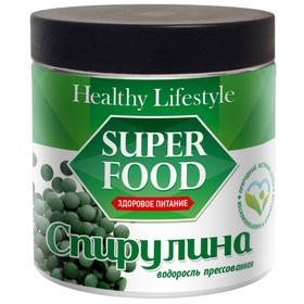 Спирулина Healthy Lifestyle, водоросль пресованная, 350 г