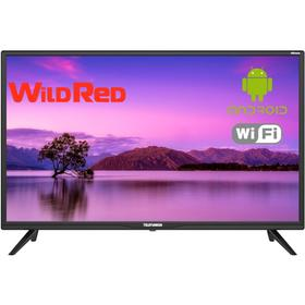 "Телевизор Telefunken TF-32S71T2S, 32"", 1366х768, DVB-S2, 3 HDMI, 2 USB,  Smart TV, черный"
