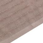 Полотенце махровое Этель Waves беж, 70х130 см, 100% хлопок, 460 гр/м2 - Фото 3