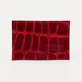 Картхолдер, цвет красный