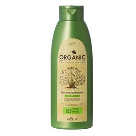 Мягкий бессульфатный Шампунь с фитокератином BIELITA ORGANIC для всех типов волос, 500 мл